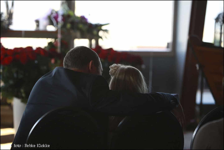 Kinderen bij vader en dochter.